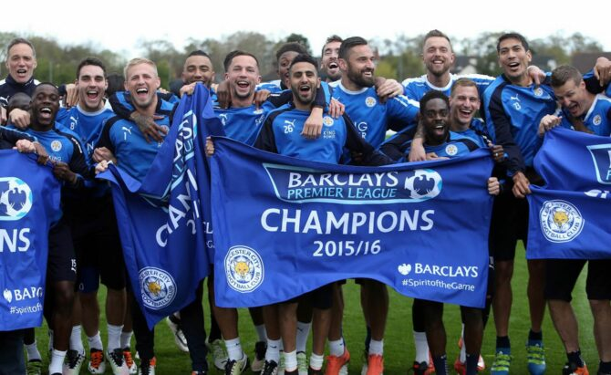 5,000 – 1    Leadership lessons from Leicester City the rank outsiders of the English Premier League.