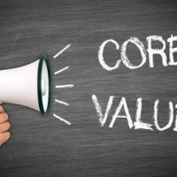 Bringing your core values to life